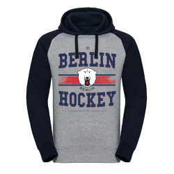 Eisbären Berlin - Hoodie - blue-grey - Berlin Hockey - Gr. M