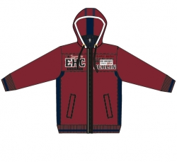 Jacket CD - EHC dark red - S. L