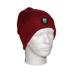 Beanie CD - Logo dark red