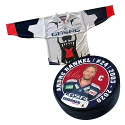 Eisbären Berlin - Puck+Trikot SET - 2018-19 - Warm-Up - 24-Rankel