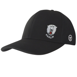 Eisbären Berlin - ADULT - TeamWear 19-20 - Warrior Team Semi-Flat Peak Cap - BLACK