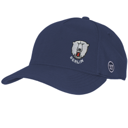 Eisbären Berlin - ADULT - TeamWear 19-20 - Warrior Team Semi-Flat Peak Cap - NAVY