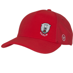 Eisbären Berlin - ADULT - TeamWear 19-20 - Warrior Team Semi-Flat Peak Cap - RED