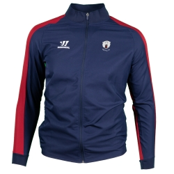 Eisbären Berlin - ADULT - TeamWear 19-20 - Covert Presentation Jacket - navy-red - Gr. M