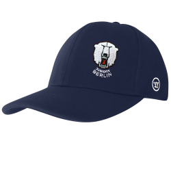 Juniors Berlin - YOUTH - 2019-20 - Warrior Team Semi-Flat Peak Cap - NAVY