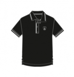 Poloshirt CD - Logo black - S. S