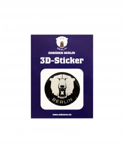 Sticker - 3D Puck Black