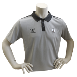 Team Wear - Warrior - Alpha Pro Polo - Grey melange